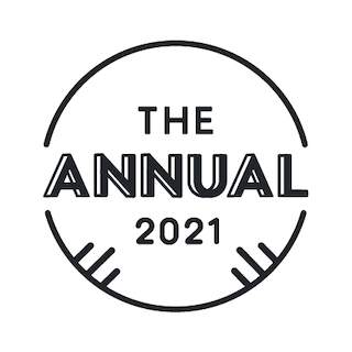 The badge earned from The Annual 2021 Peloton Challenge