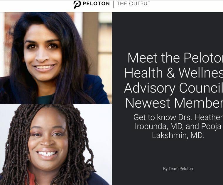 Screenshot of Peloton Blog