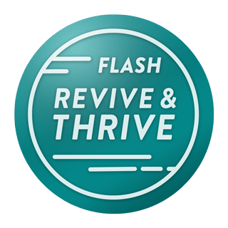 Image of the Revive & Thrive badge