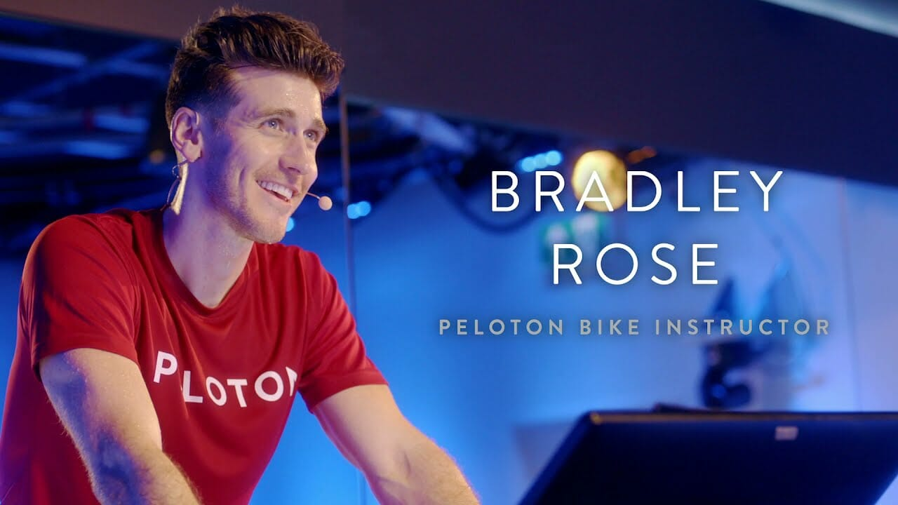 Bradley Rose is announced as the newest Peloton cycling instructor.