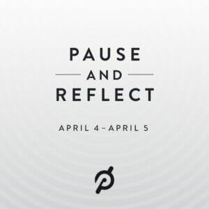 Image announcing Peloton's Easter Break