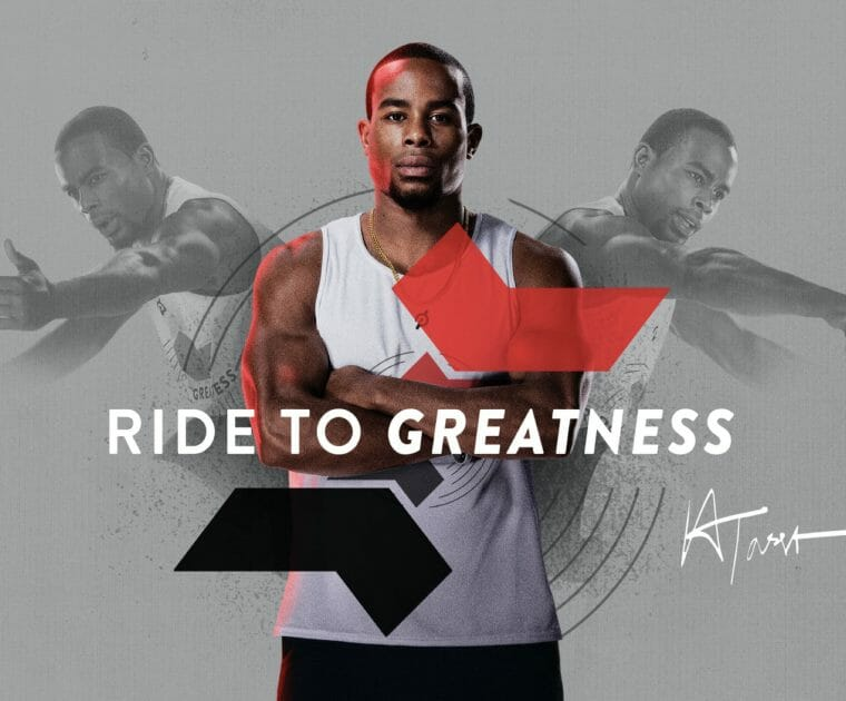 "Peloton has announced the ""Ride to Greatness"" competition with Alex Toussaint"