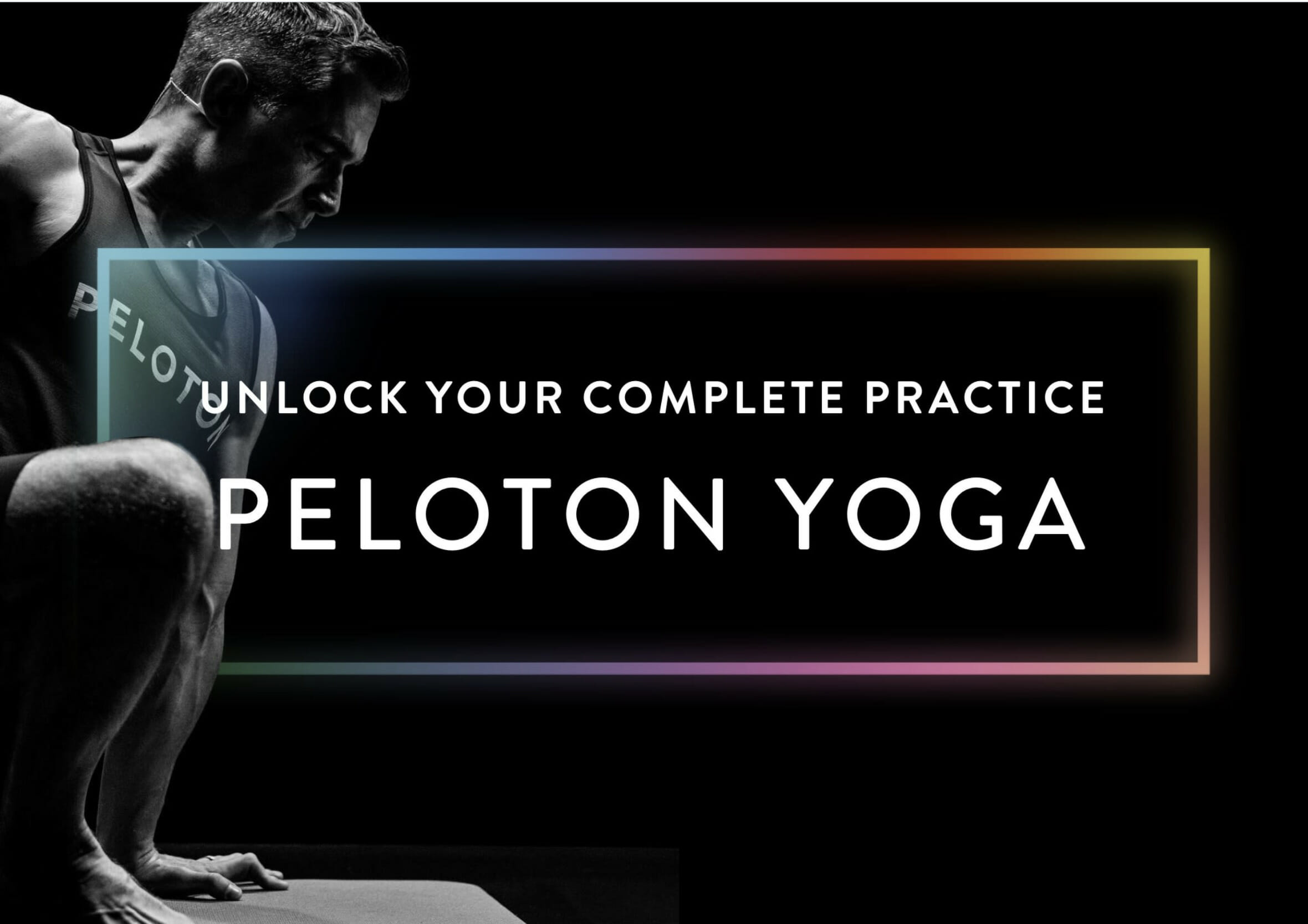 Image introducing the 5 new Peloton yoga collections