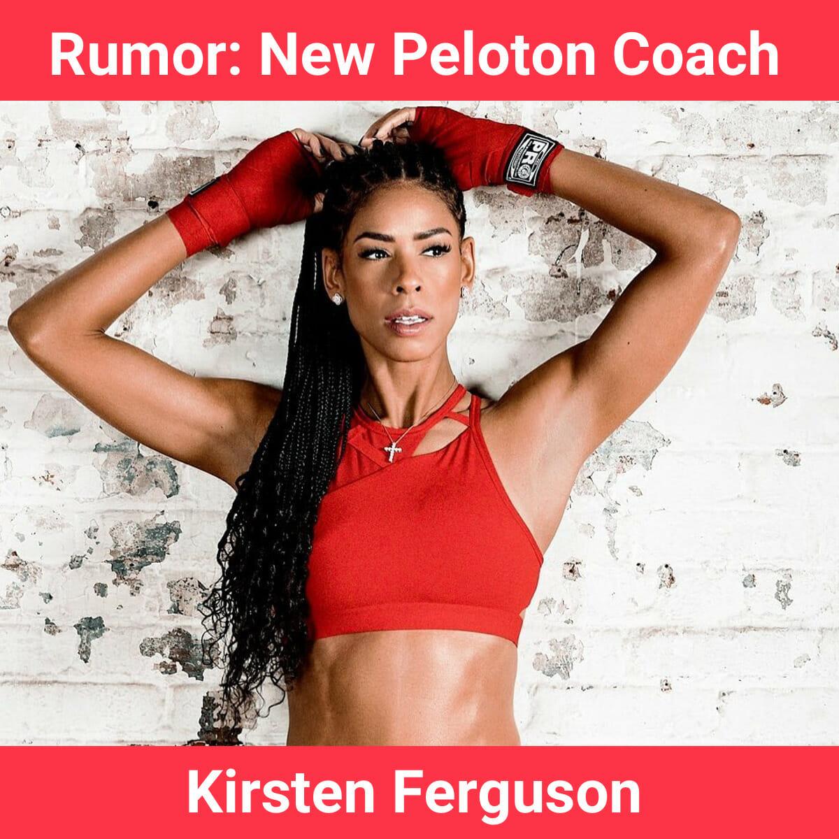 Image of rumored Peloton coach Kirsten Ferguson