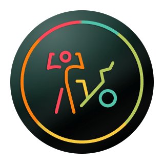 Image of the new Bike Bootcamp Strive Score badge.