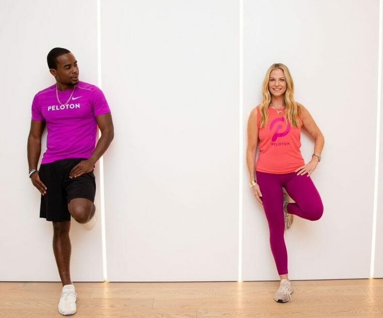 Alex Toussaint & Jenn Sherman will teach a Peloton Mother's Day Ride