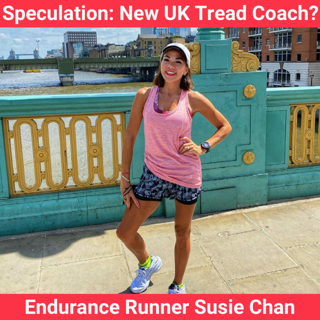 Picture of possible new UK Tread Peloton coach Susie Chan.