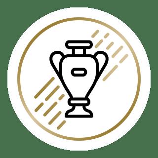 The Peloton Top Goals Challenge badge (Gold)