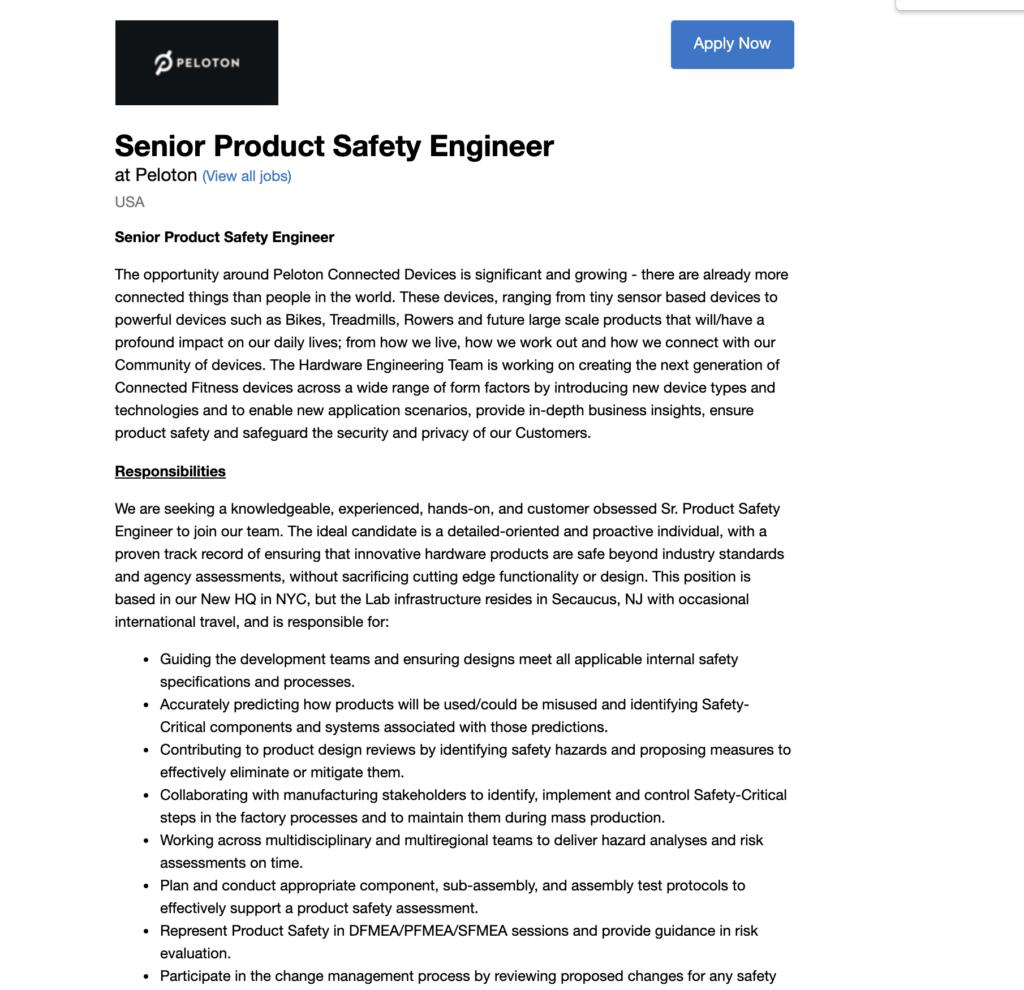 A new Peloton job posting mentions the Peloton Rower.