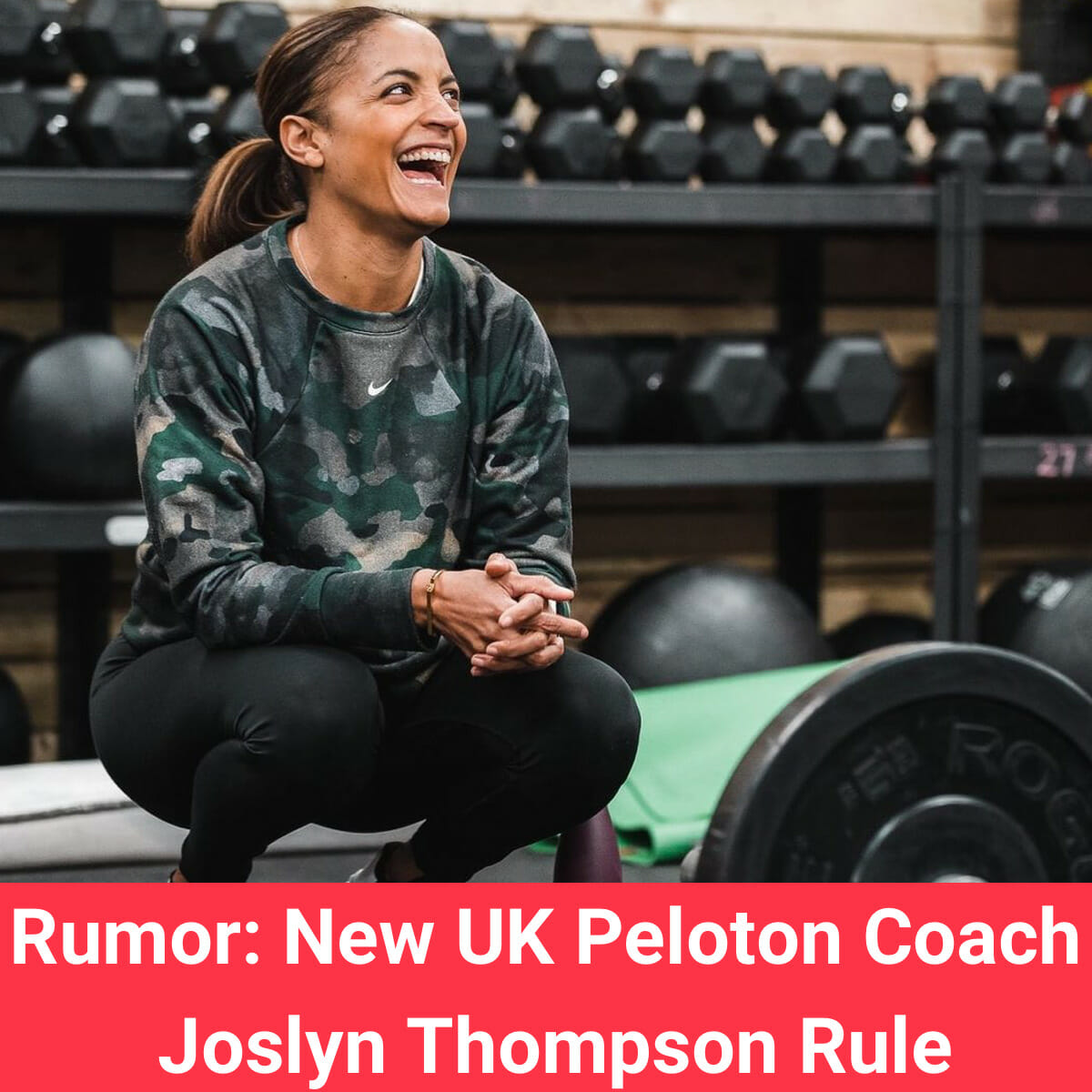 A new rumor indicates Joslyn Thompson Rule might be a new UK Tread coach for Peloton.