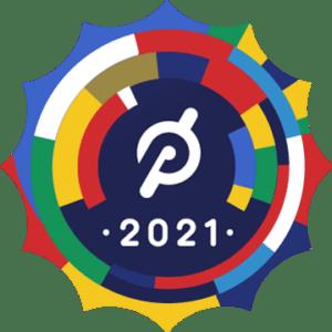 Peloton's 2021 LatinX Heritage Month Badge.